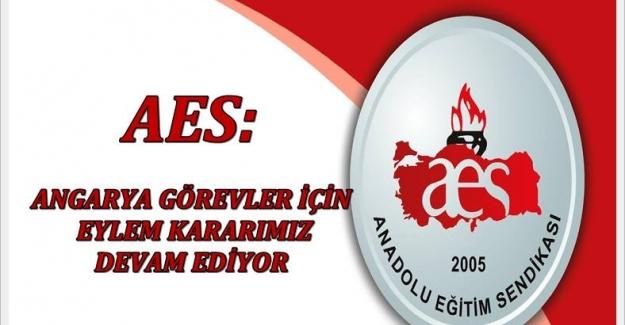 Anadolu Eğitim Sendikasının : Angarya Görevler için Eylem Kararları Devam Ediyor