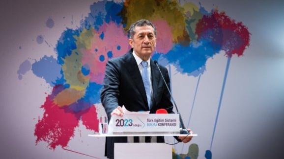 """Bakan Ziya Selçuk, 2023´e Doğru Türk Eğitim Sistemi """"Bulma Konferansı""""na katıldı"""