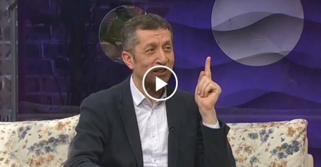 Milli Eğitim Bakanı'nın sosyal medyayı sallayan konuşması