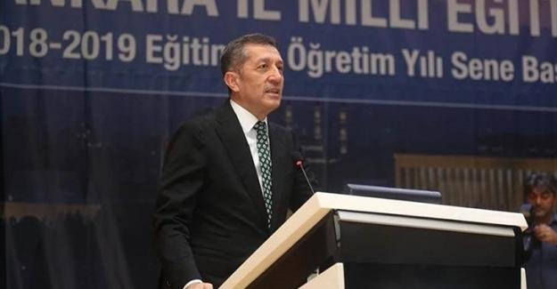 Milli Eğitim Bakanı Ziya Selçuk'tan Yine Çok Konuşulacak Açıklamalar