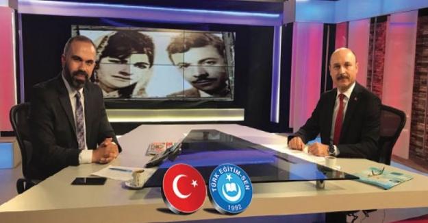 Türk Eğitim Sen Genel Başkanı Talip Gelyan: Ziya Selçuk'un Milli Eğitim Bakanlığı makamına getirilmesi umut yaratmıştır.