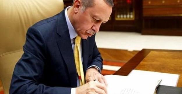 Cumhurbaşkanı Erdoğan Üç Üniversiteye Rektör Ataması Yaptı