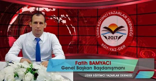 Fatih BAMYACI Ö.GG.İş Sendikasının Ege Bölgesi 1.Bölge Başkanı Oldu