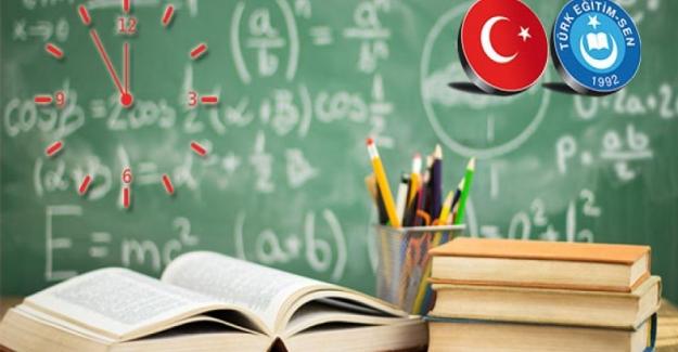 Mesai Saatleri Dışında Yapılan Derslerde Görev Alan Öğretmenlere de Arttırımlı Ek Ders Ücreti Ödenmeli Ve Hizmet Puanı Verilmelidir