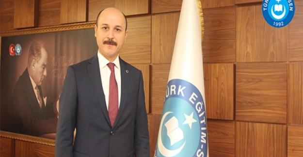 Türk Eğitim Sen Genel Başkanı Talip Gelyan: Vizyon Belgesinin Takipçisi Olacağız