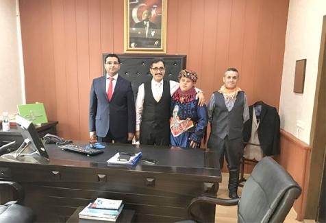 Ali Öğretmen Down Sendromlu Efe ile Türkiye 1.'si Oldu