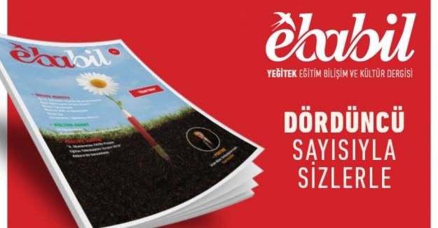 """Ebabil dergisi, Son Yayınlanan Sayısını """"Öğretmen""""e ayırdı"""