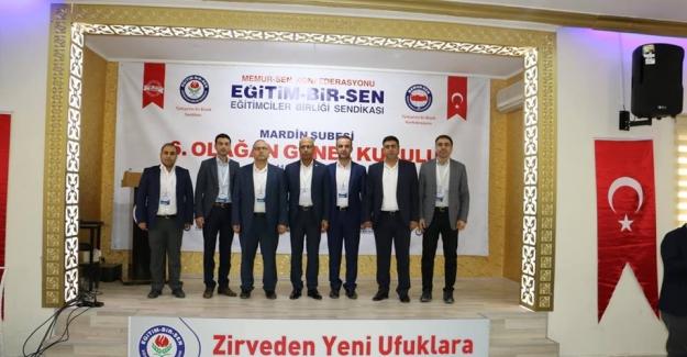EBS Mardin Şube Başkanı Eyyüp Değer Güven Tazeledi Tekrar Başkan Seçildi