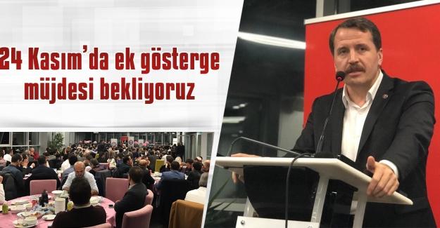 Eğitim-Bir-Sen ve Memur-Sen Genel Başkanı Ali Yalçın, 24 Kasım Öğretmenler Gününde 3600 Ek Gösterge Müjdesini Bekliyoruz