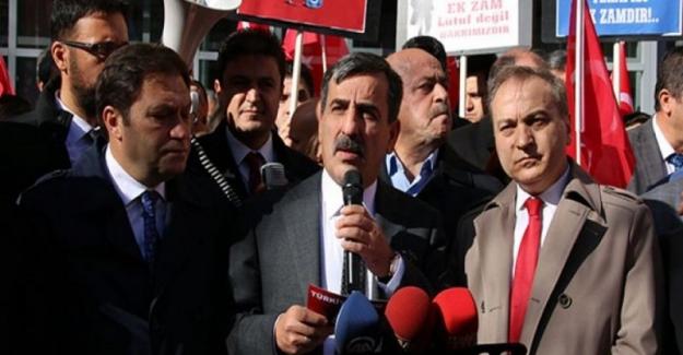 "TES ""EK ZAM"" TALEBİMİZİ CUMHURBAŞKANINA İLETTİK"