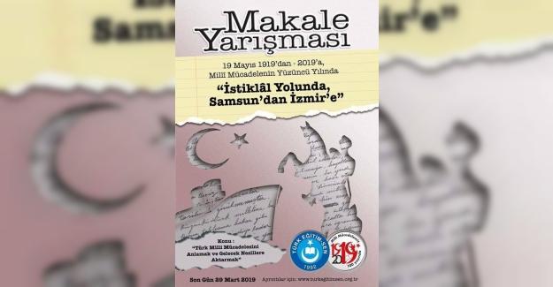"""TES Genel Merkezi, """"İstiklal Yolunda, Samsun'dan İzmir'e"""" Adıyla Makale Yazma Yarışması Düzenliyor"""