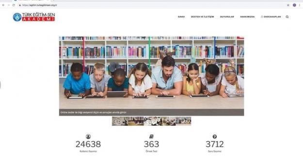TÜRK EĞİTİM-SEN AKADEMİ, - kullanımı ücretsiz olarak sunulan eğitim portalıdır.