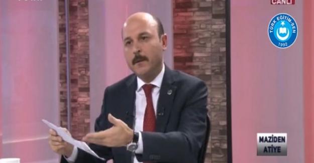 """Türk Eğitim Sen Genel Başkanı Talip Gelyan: """"2019 Şubat Ayında 40 Bin Ek Atama Gerçekleşsin"""""""