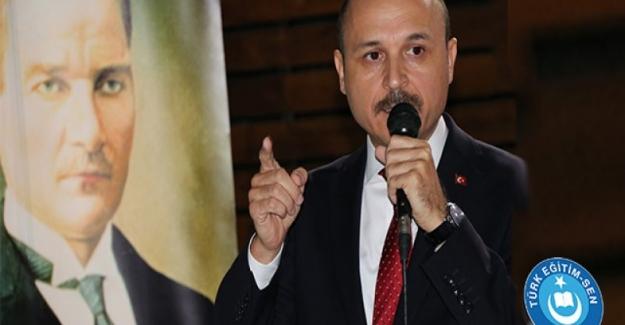 """Türk Eğitim Sen Genel Başkanı Talip Gelyan: """"MEB AND'ımızla İlgili Temyiz Kararını Geri Çekmeli"""""""