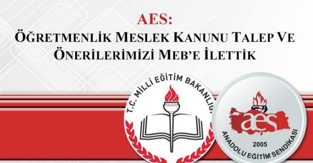 Anadolu Eğitim Sendikası: Öğretmenlik Meslek Kanunu Talep Ve Önerilerini MEB'e İletti