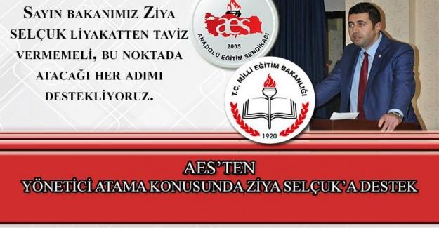Anadolu Eğitim Sendikası: Yönetici Atama Konusunda Bakan Ziya Selçuk'a Destek Verdi