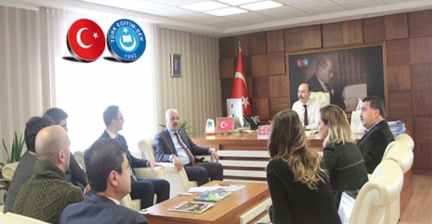 Eş Durumu Mağduru Sözleşmeli Öğretmenler Türk Eğitim Sen'i Ziyaret Etti