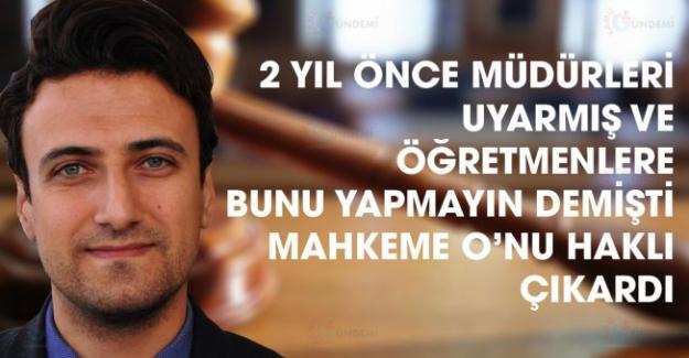 Mahkeme Sedat Değer'i Haklı Çıkardı