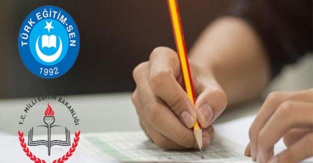 MEB UNVAN DEĞİŞİKLİĞİ SINAVINI BİRAN ÖNCE YAPMALI