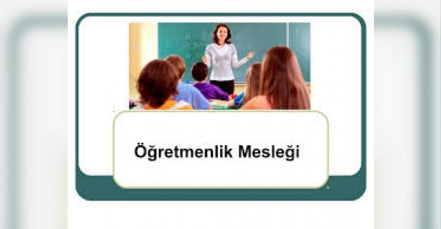 Öğretmenlik Meslek Etiği Üzerine