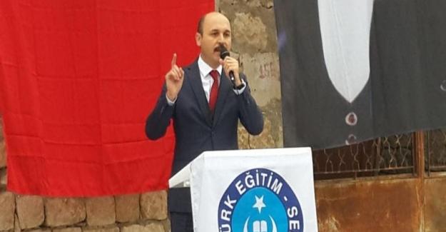 """Talip Gelyan: """"Şubat 2019'da 40 Bin Öğretmen Ataması Yapılsın"""""""