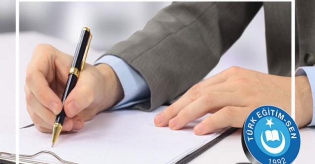 TES: DYK Kurslarında Nöbet Görevi Verilen Öğretmenlere Ücret Ödenmesi İçin KDK'ya Başvurdu