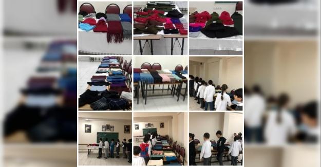 Mehmetçik Üşümesin proje sergisi