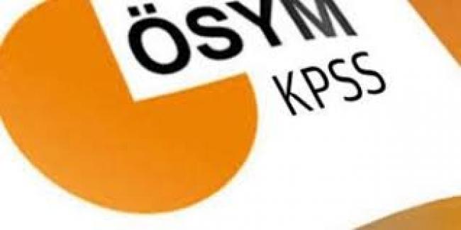 ÖSYM: 2018 KPSS- Lisans, Ön Lisans ve Ortaöğretim Branş Bazında Sıralamalarını Güncelledi