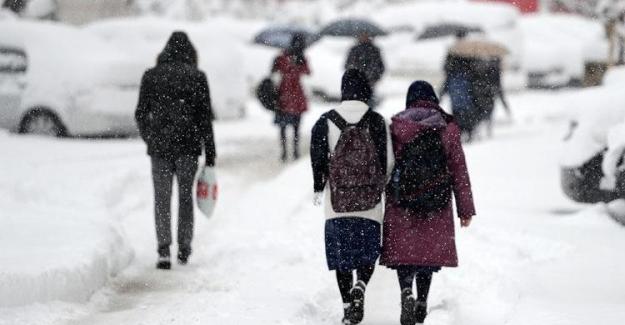 Yarın İki İlde Okullar Tatil Edildi