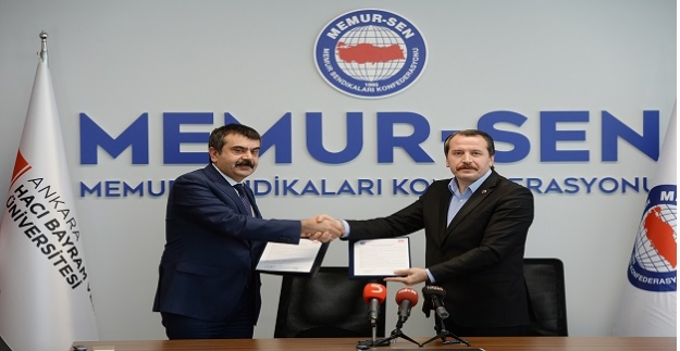 Ankara Hacı Bayram Veli Üniversitesi ile 'Uluslararası Sendikacılık ve Sosyal Politika Programı' protokolü imzaladık