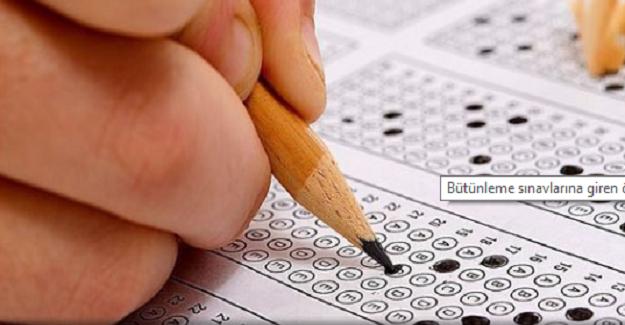 Bütünleme Sınavına Giren Öğrenciler İçin Emsal Karar Verildi
