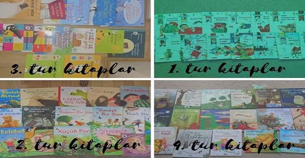 Mehmet Akif Ersoy Üniversitesi Anaokulu eTwinning 100 güne 100 kitap projesi