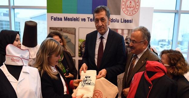 Milli Eğitim Bakanı Ziya Selçuk: Ordu'da Matematik Müzesi Ve Bilimevi'nde Öğrencilerle Buluştu