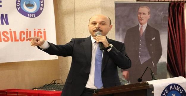 """""""TOPLU SÖZLEŞME MASASINA OTURMAMIZI ENGELLEMEK KİMSENİN HADDİ DEĞİL."""""""