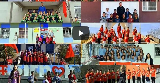 10 Farklı Okul, 10 Farklı Şehirde Okunan İstiklal Marşı, İzlenme Rekorları Kırıyor
