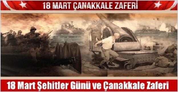 18 Mart Çanakkale Zaferi Kutlu Olsun! 18 Mart Şehitlerimizi Saygı ile Anıyoruz!