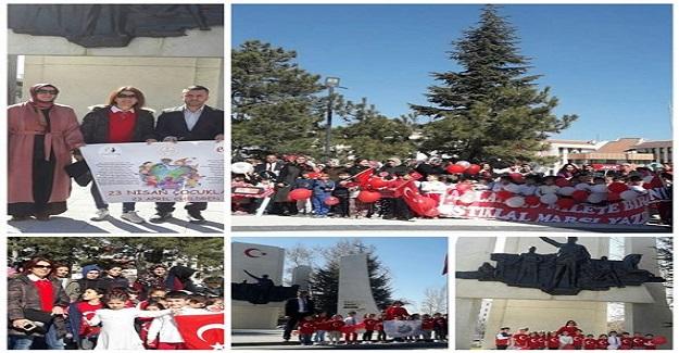 23 Nisan Çocukları, İstiklal Marşı'nda biraraya geldi