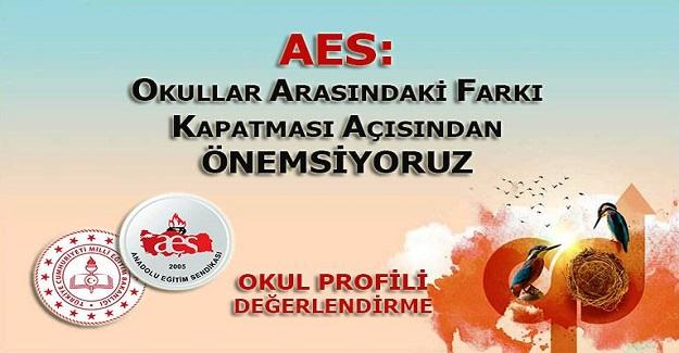 AES: OKULLAR ARASINDAKİ FARKI KAPATMASI AÇISINDAN ÖNEMSİYORUZ