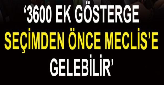 Ak Parti Parti Grup Başkanvekili Bülent Turan 3600 Ek Gösterge Hakkında Açıklama Yaptı