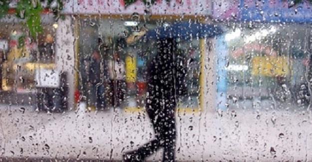 Dikkat ! Meteorolojiden Kuvvetli Yağış Uyarısı