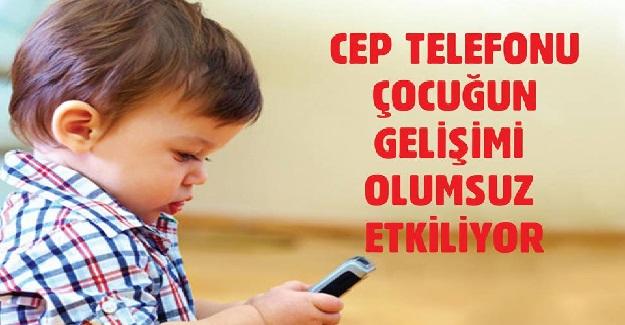 Ebeveynler cep telefonlarını bakıcı anne gibi kullanıyor