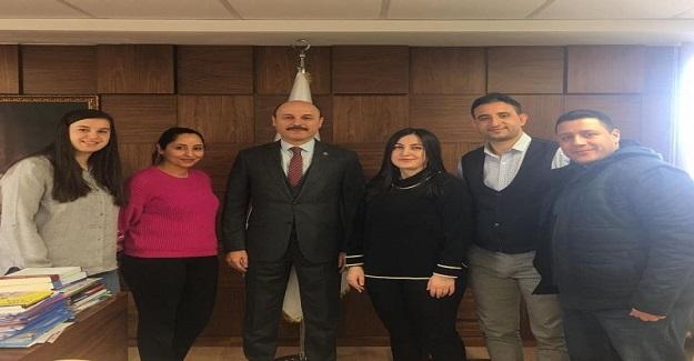 Felsefe Grubu Öğretmenlerinden Türk Eğitim Sen'e Ziyaret