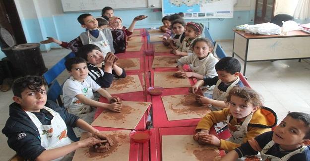 Köy Okulumuz, Tasarım-Beceri Atölyeleri ile Eğitim 2023 Vizyonuna Hazır