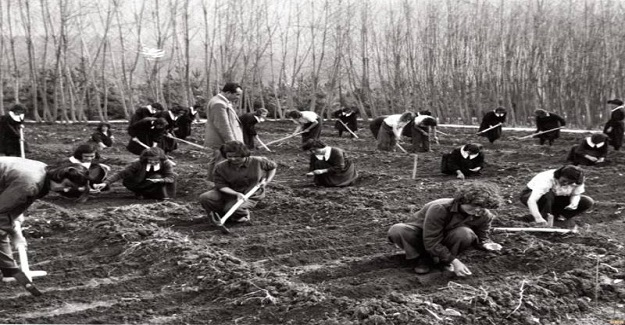 Modern tarım teknikleriyle gittikleri köylerde üretime katıldılar.