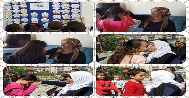 Öğrenciler yaşlılarımızı ziyaret ediyor
