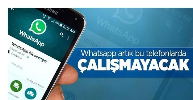 WhatsApp bazı telefonlarda çalışmayı durduracak! İşte o telefonlar