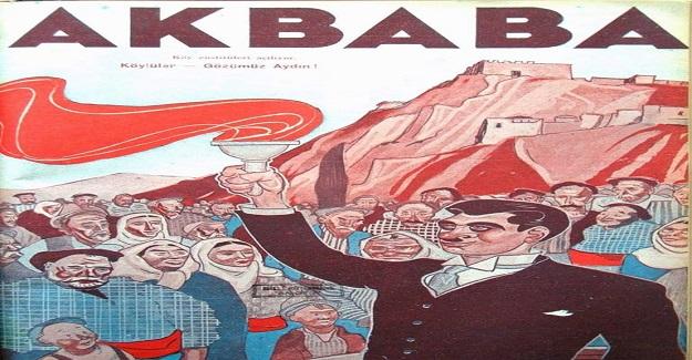 1940 YILINDA ÇIKAN AKBABA DERGİSİ'NİN KAPAĞI
