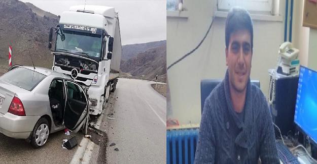 28 Yaşındaki genç öğretmen geçirdiği trafik kazası sonucu hayatını kaybetti