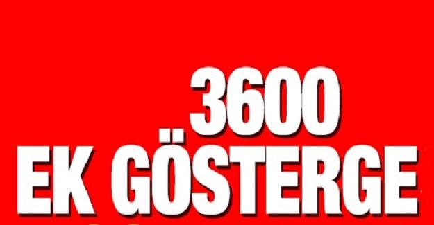 3600 Ek Gösterge