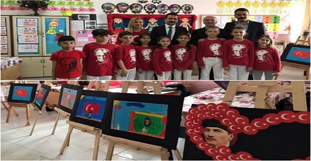 Atatürk Çocukları eTwinning proje sergisi